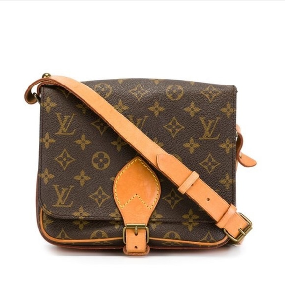 347dd1c1ba29 Louis Vuitton Handbags - Vintage LouisVuitton Monogram Canvas Cartouchiere